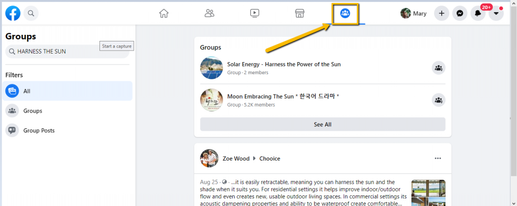 How to Join a Facebook Group as a Facebook Page